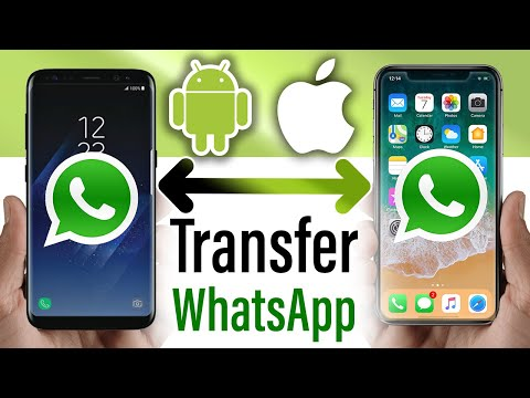 How to transfer WhatsApp Messages Data Between iPhone and Android! 2020