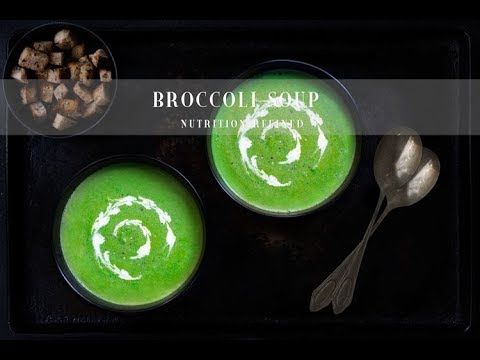 Cream of Broccoli Soup – 2 Versions | Vegan, Paleo, Keto