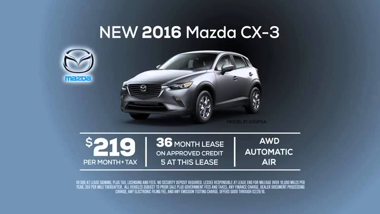 Mazda CX Lease Special From Mazda Of Orange YouTube - Mazda lease offer