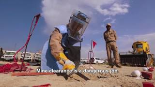 A Day in the Life of Afghan Deminers