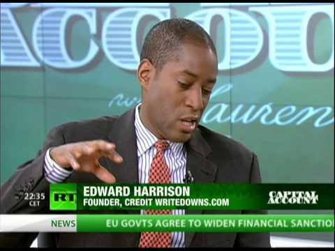 """Edward Harrison on a United States of Europe and """"more Fiscal Unity along German Lines"""""""