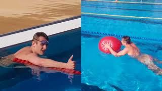 Плавание-управляй свободой! Аквакомплекс Лужники! Плавание+ Aqua  Cross Balance !