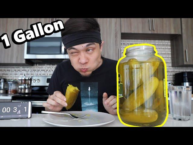 1 GALLON JAR of PICKLES CHALLENGE