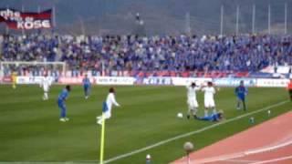 札幌戦の大西のゴールです。