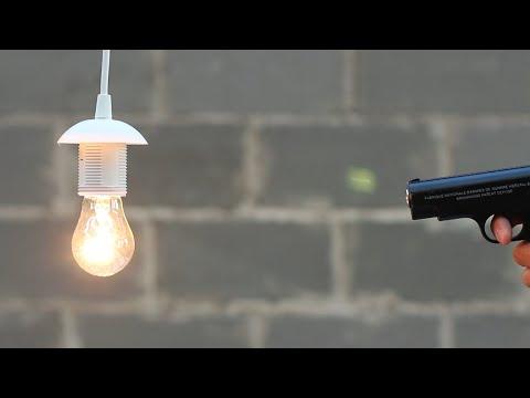 Airsoft Gun vs Ballon   What Can Airsoft Gun Do? (by Mr. Hacker)