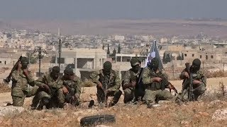 Russian Turkish presidents agree to demilitarized zone in Syria's last rebel stronghold