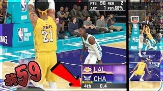 INSANE Scoring 100 Points on Hall of Fame! Last Second Shot!!? NBA 2k20 MyCAREER Ep. 59