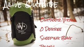Outdoor Vitals 0 degree sleeping bag review