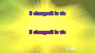 Karaoké Il changeait la vie - Génération Goldman *