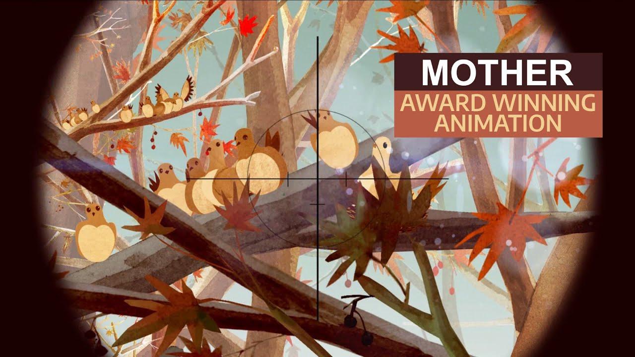 Mother 1 minute Sad Emotional Award Winning Iranian Short Film Animation Animated