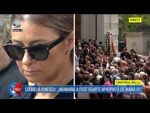 Stirile Kanal D (19.04.2018) - Ionela Prodan, inmormantata la cimitirul Bellu! Editie COMPLETA