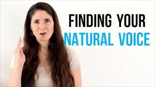 Freya's Singing Tips: Finding your NATURAL VOICE