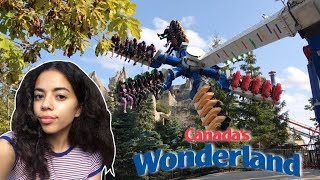 Canada's Wonderland Vlog 2017! (NEW Rides and Meeting a Fan!)