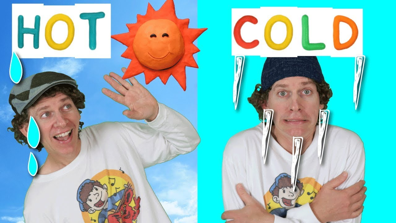 Hot Cold Action Song for Kids | Learning Opposites | Learn ...