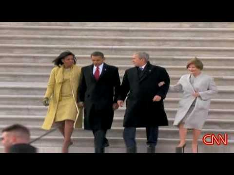 George W  Bush's final goodbye