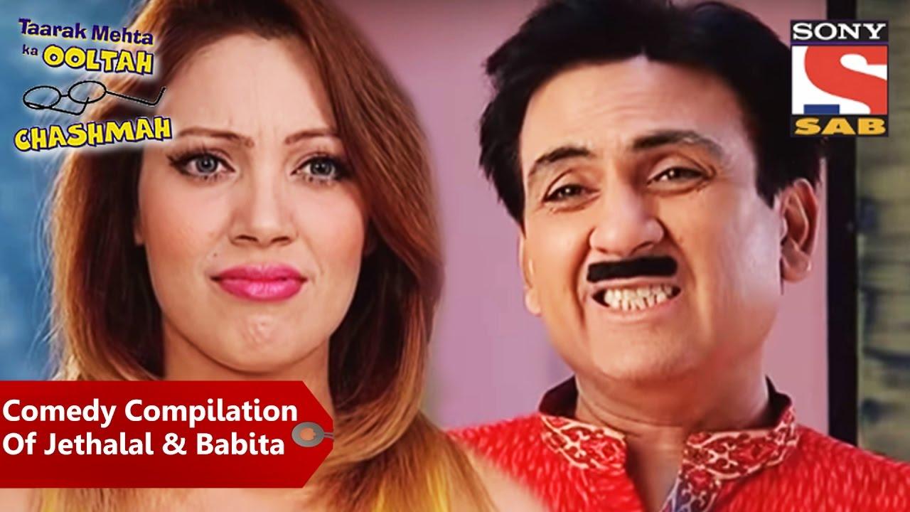 Comedy Compilation Of Jethalal & Babita   Taarak Mehta Ka Oolta Chashma
