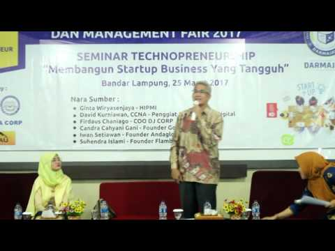 Talk Show technopreneurship IBI Darmajaya 2017