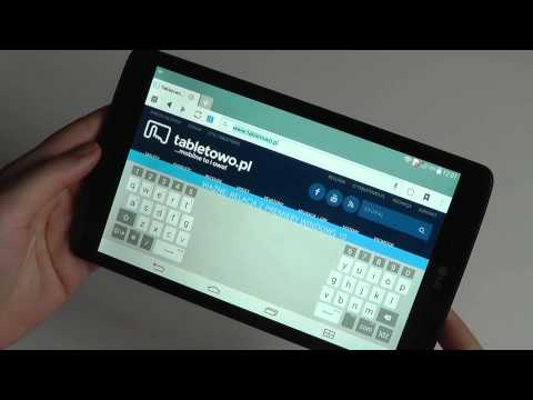 Recenzja LG G Pad 8 0- test Tabletowo.PL