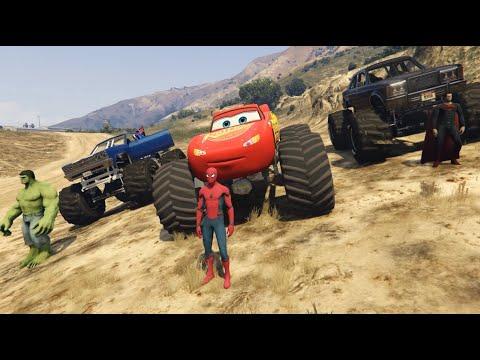 Lightning McQueen Monster