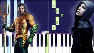 Skylar Grey - Everything I Need Piano Tutorial EASY (Piano Cover) Aquaman