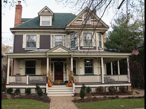 American Four-Square Restoration Haddonfield New Jersey