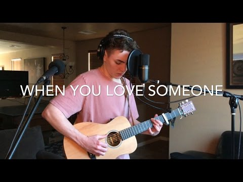 When You Love Someone - James TW (Acoustic Loop Pedal Cover)