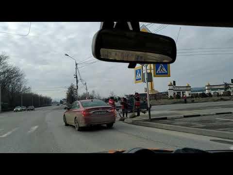 Кто убирает улицы Грозного по утрам?   февраль 2020, Чечня