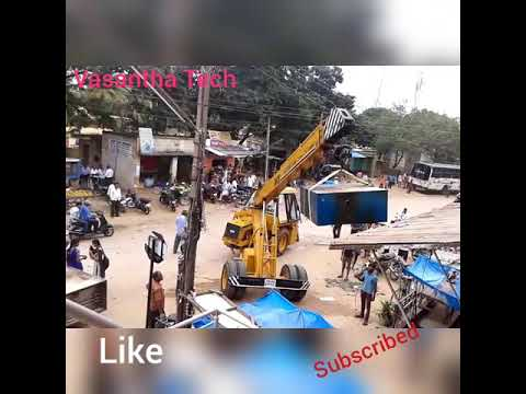 Crane using to lifting of the woven box, Short video,