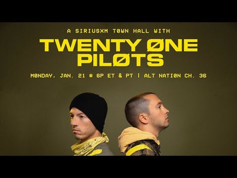 twenty one pilots - SiriusXM Town Hall Alt Nation 2019 (Full Audio Broadcast)