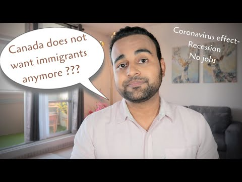 Canada doesn't want immigrants in the near future ???