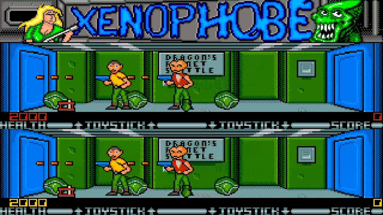 ATARI ST XENOPHOBE By MicroStyle Micro Style - Microprose ... Xenophobe Game