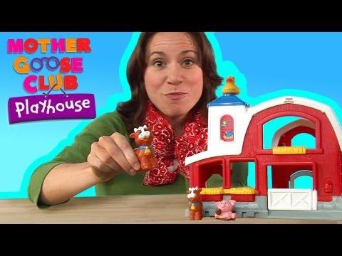 Old MacDonald   Mother Goose Club  Playhouse Kids Video