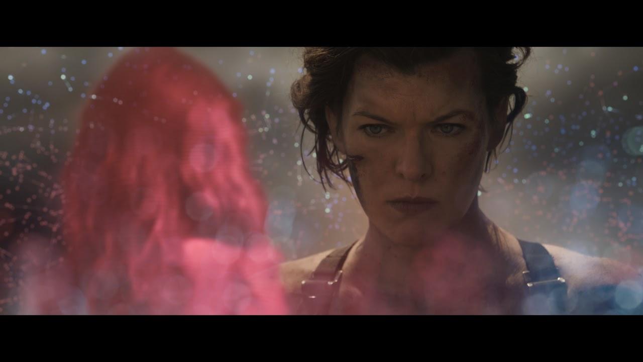 Resident Evil The Final Chapter 2016 Ending Scene Youtube