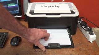 What to do if Printer says paper jam but there is no paper in it