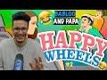 Babloo and uske Papa😂 - Happy Wheels #2