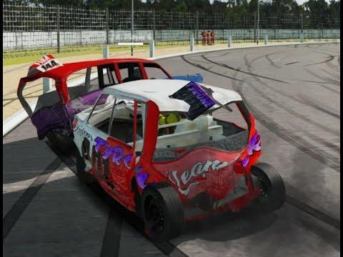 Wreckfest bangers new track! Kings lynn Raceway!