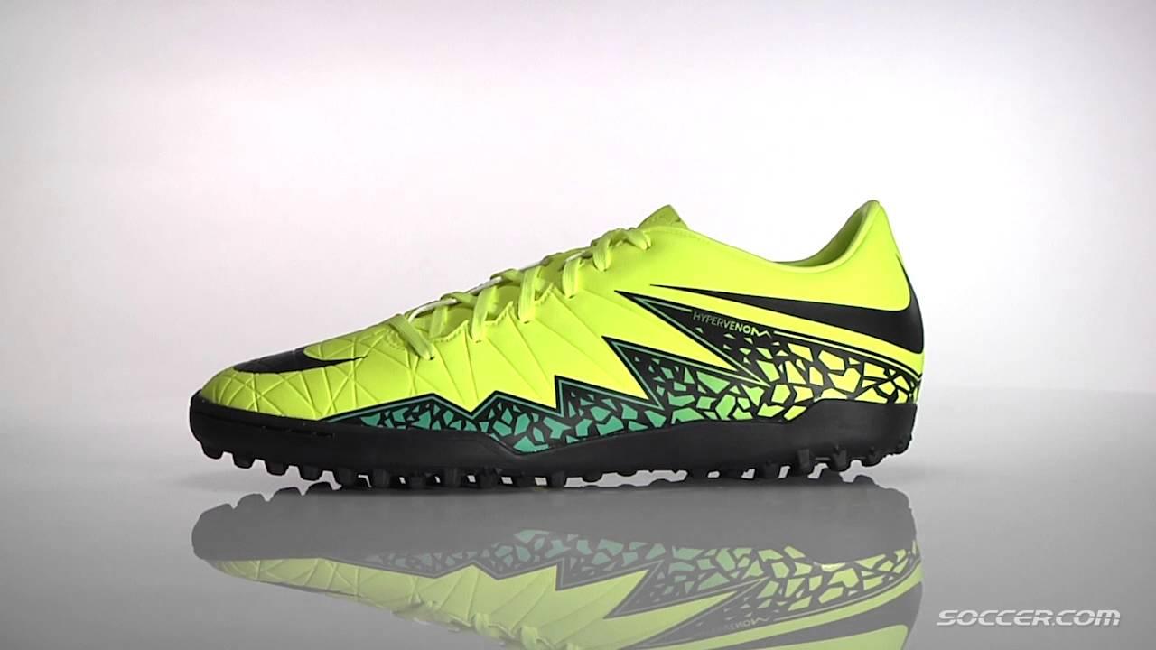 new arrival 850a1 b2cff Nike Hypervenom Phelon II TF Turf Soccer Shoes