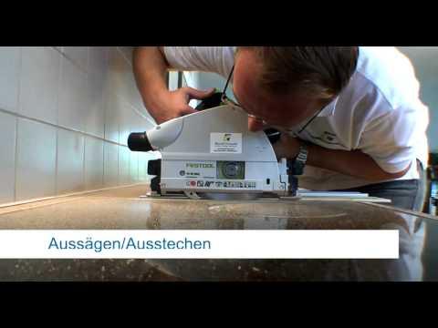 Repair Concepts Reparatur Küchenarbeitsplatten - YouTube