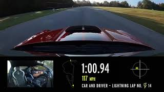 homepage tile video photo for 2020 Ford Mustang Shelby GT500 at Lightning Lap 2021