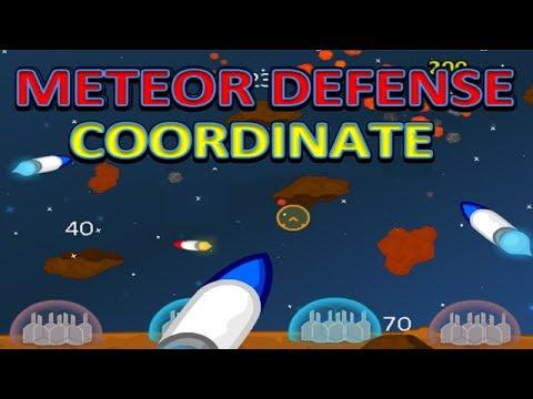 Meteor Defense Coordinate Coordinate Grid Game Instructional Video