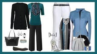 Pantalones Elegantes Para Senoras 2018 Youtube