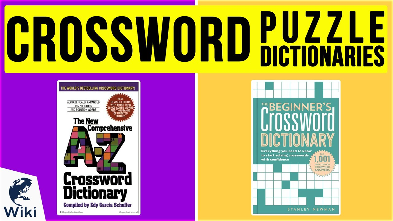 Top 10 Crossword Puzzle Dictionaries Of 2020 Video Review