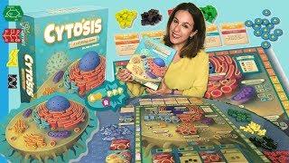 Presentando un juego de mesa biológico: CYTOSIS. Unboxing y iniciación al juego