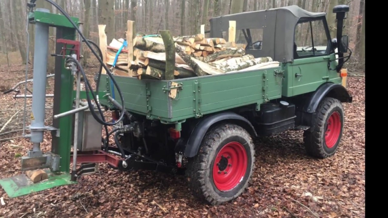 holz machen mit unimog 421 youtube. Black Bedroom Furniture Sets. Home Design Ideas