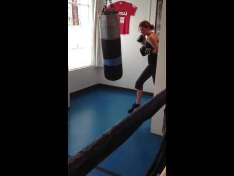 Erin Breen - Boxing Training at CMC Pro Boxing