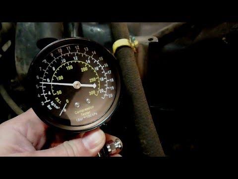 Замер компрессии на двух ВАЗ 2107