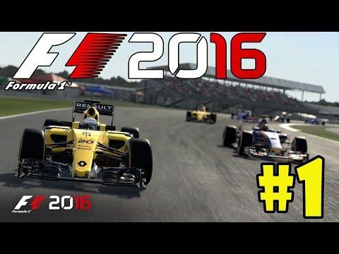 F1 2016 | MODO CARREIRA | WILLIANS FELIPE MASSA #1