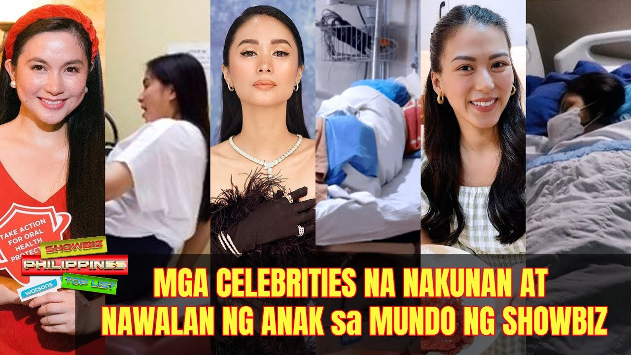 Mga Celebrities na NAKUNAN at NAWALAN ng ANAK sa Mundo ng Showbiz