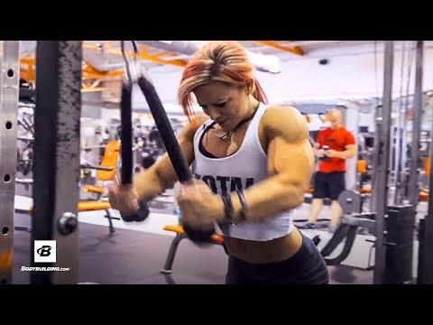 Lil Monstar's Olympia Back Workout | IFBB Physique Pro Dani Reardon