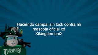 Haciendo pvps sin lock con mi mascota oficial: XikingdemoniX (Amistoso) xd Dragon ball rage